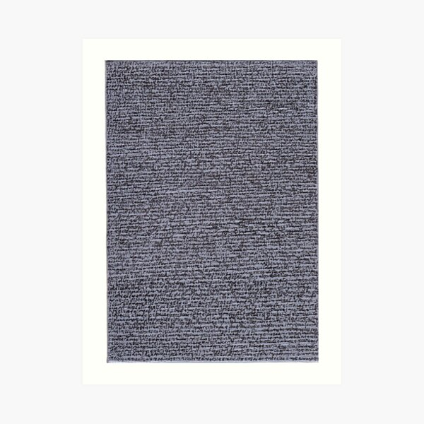 """""""Dictionary 1"""" (a-air conditioning) Art Print"""