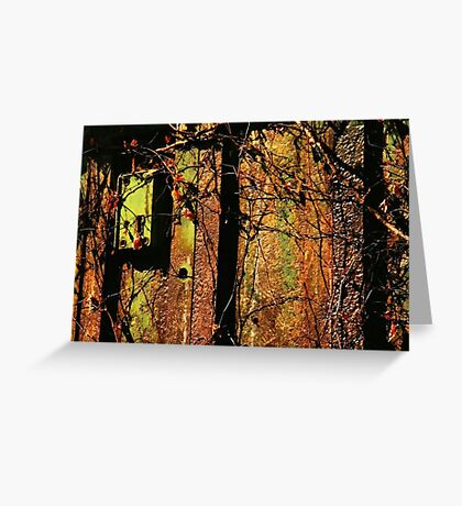 Rusty and Crusty Colors Greeting Card