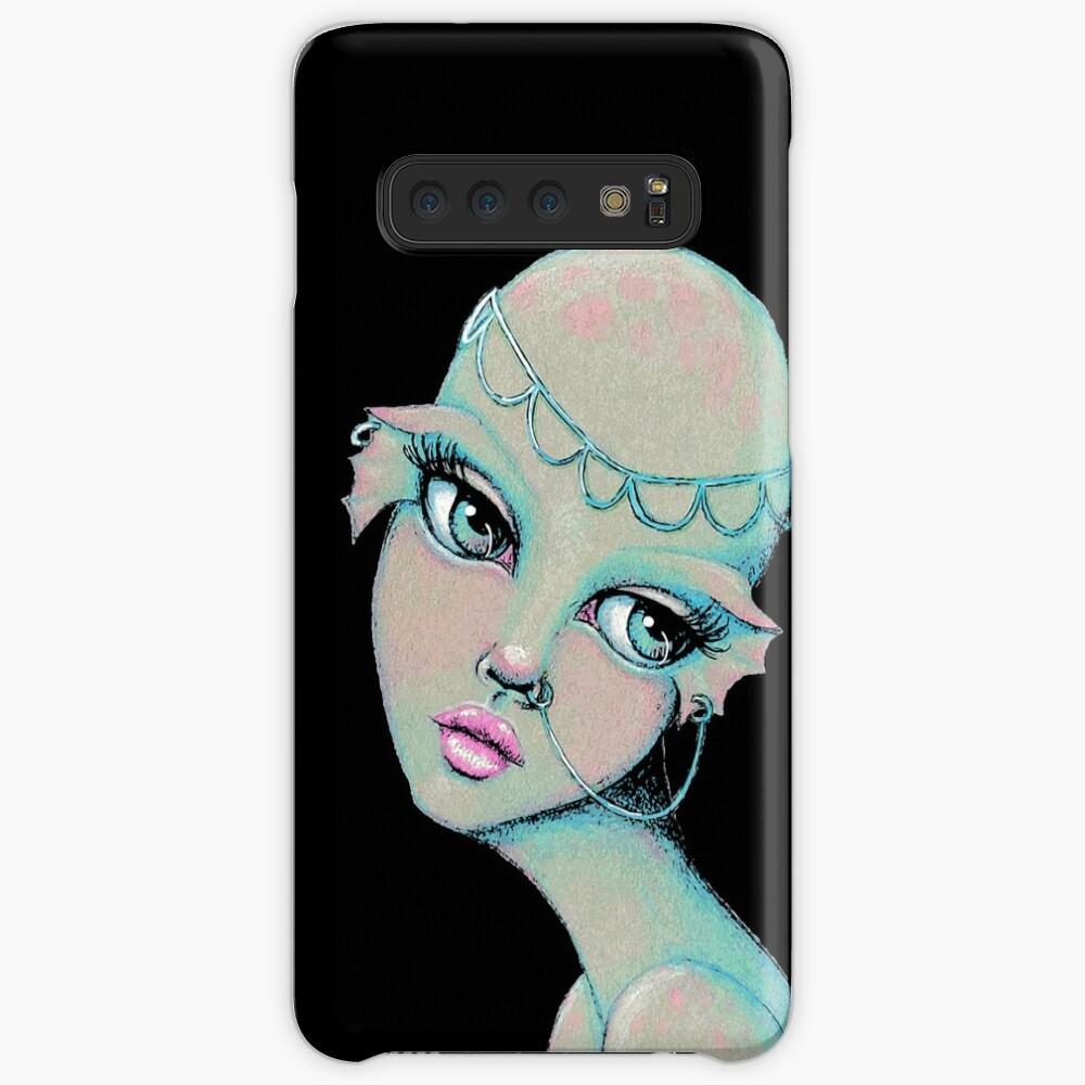 Bald & Beautiful Mermaid Case & Skin for Samsung Galaxy