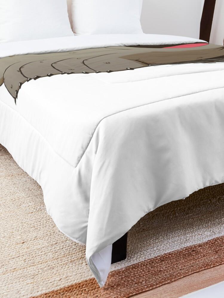 Alternate view of crystal Comforter