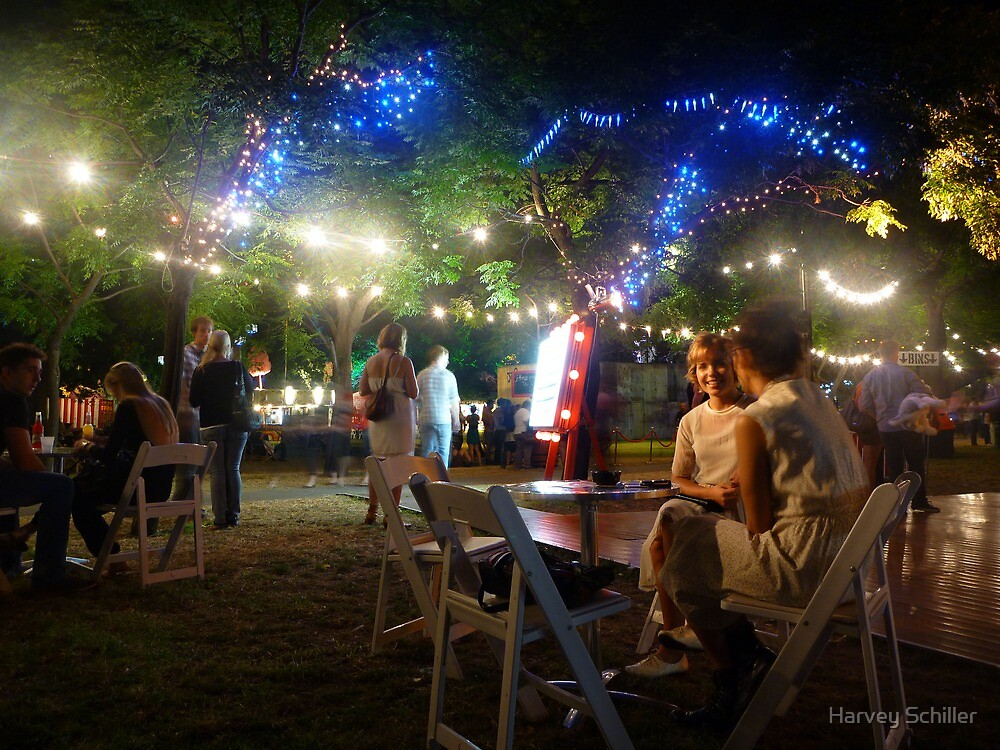 At the Garden of Unearthly Delights by Harvey Schiller