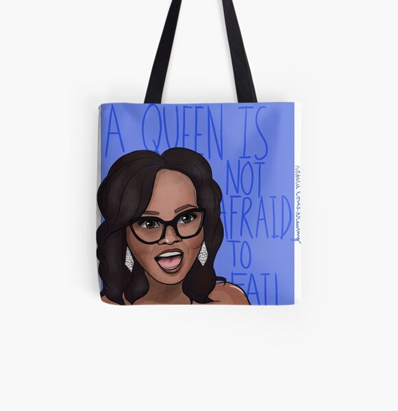 Oprah Winfrey Has Plenty of Motivation for all of Us All Over Print Tote Bag