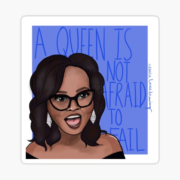 Oprah Winfrey Has Plenty of Motivation for all of Us Sticker