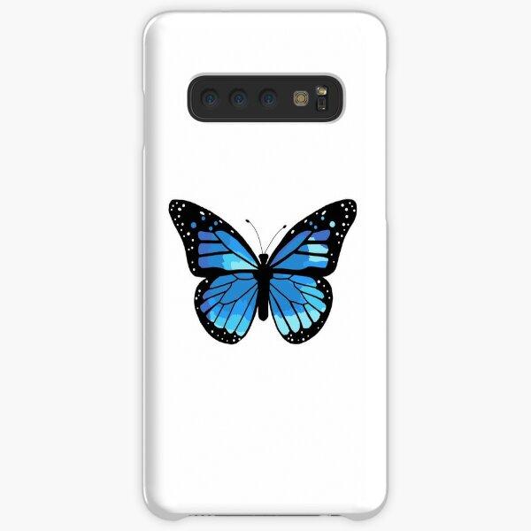 blue monarch butterfly Samsung Galaxy Snap Case
