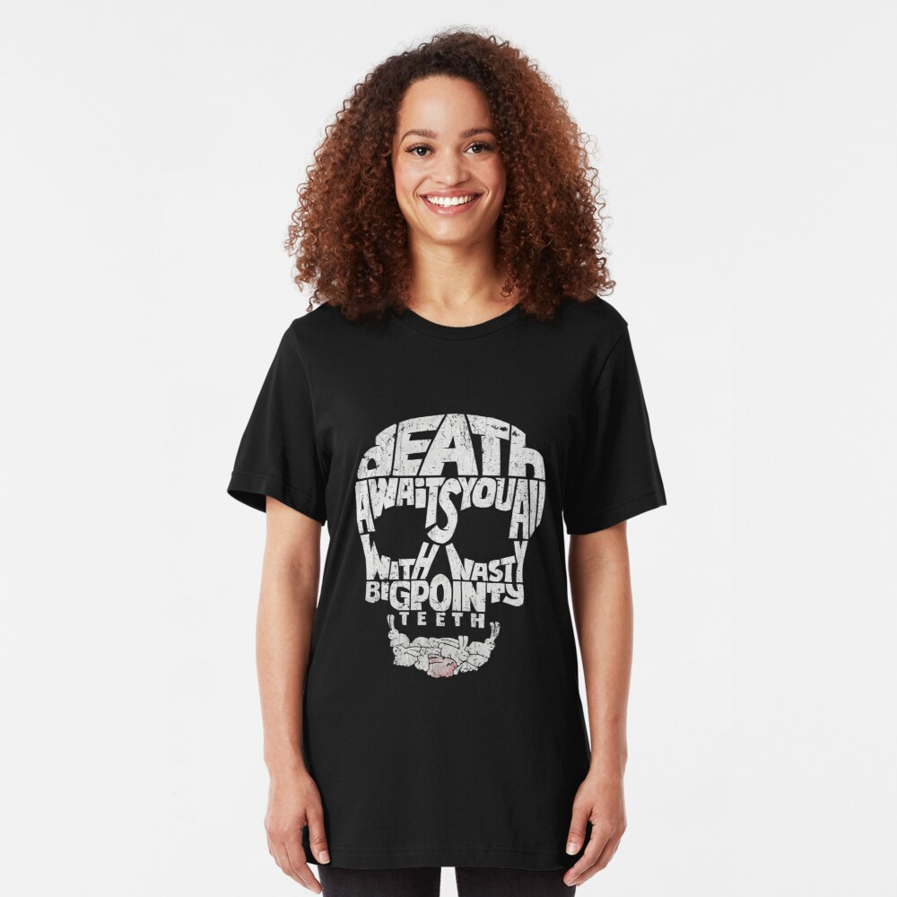 Death by Rabbit Slim Fit T-Shirt