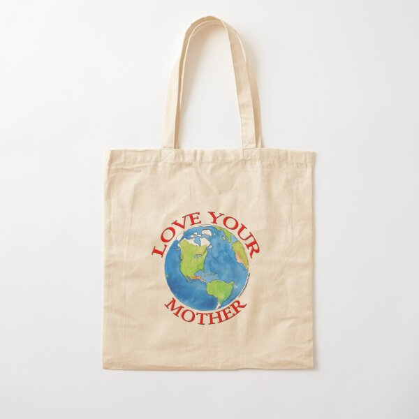 Love Your Mother Cotton Tote Bag