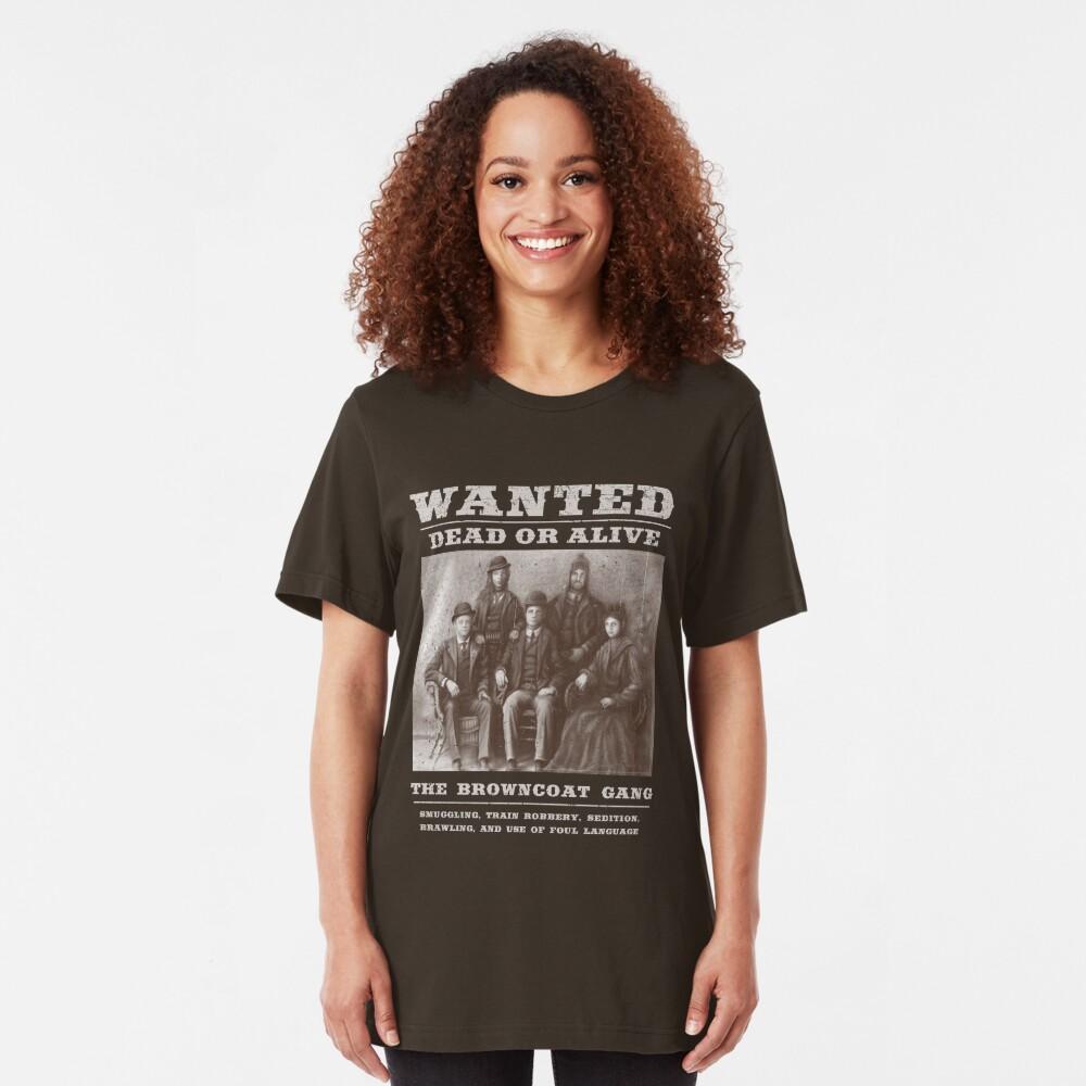 The Browncoat Gang Slim Fit T-Shirt