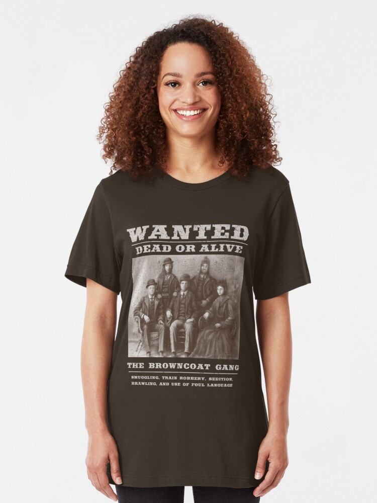 Alternate view of The Browncoat Gang Slim Fit T-Shirt