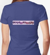 #Opinion8ed Fitted V-Neck T-Shirt