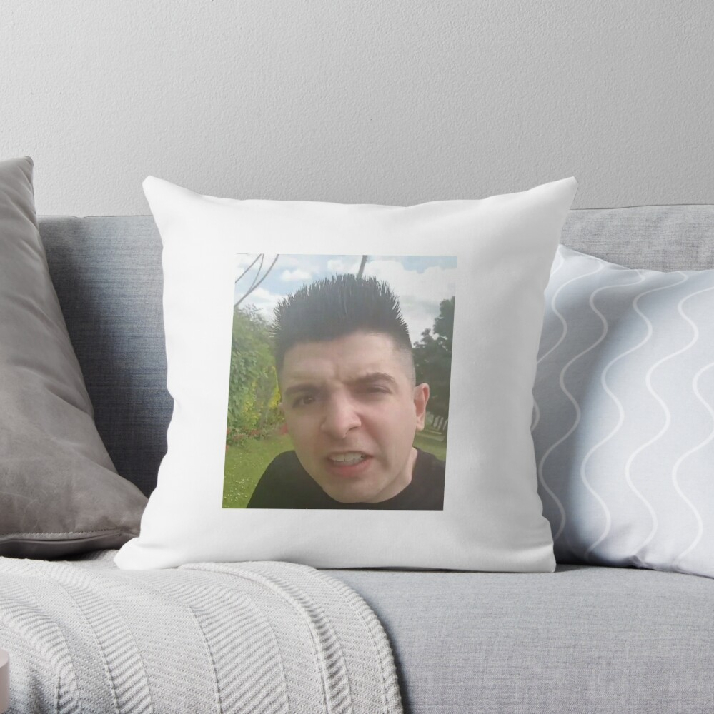 Gross Gore Hedgehog Throw Pillow By Englandismycity Redbubble