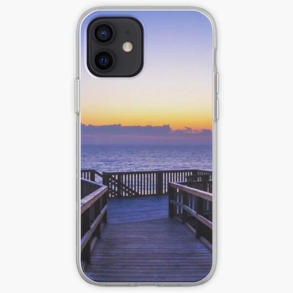 Moore River Boardwalk at Sunset - Western Australia iPhone Soft Case