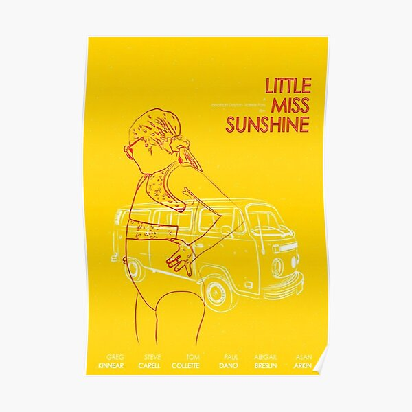 petite mademoiselle soleil - Poster