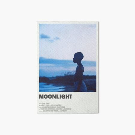 moonlight the movie -  Art Board Print