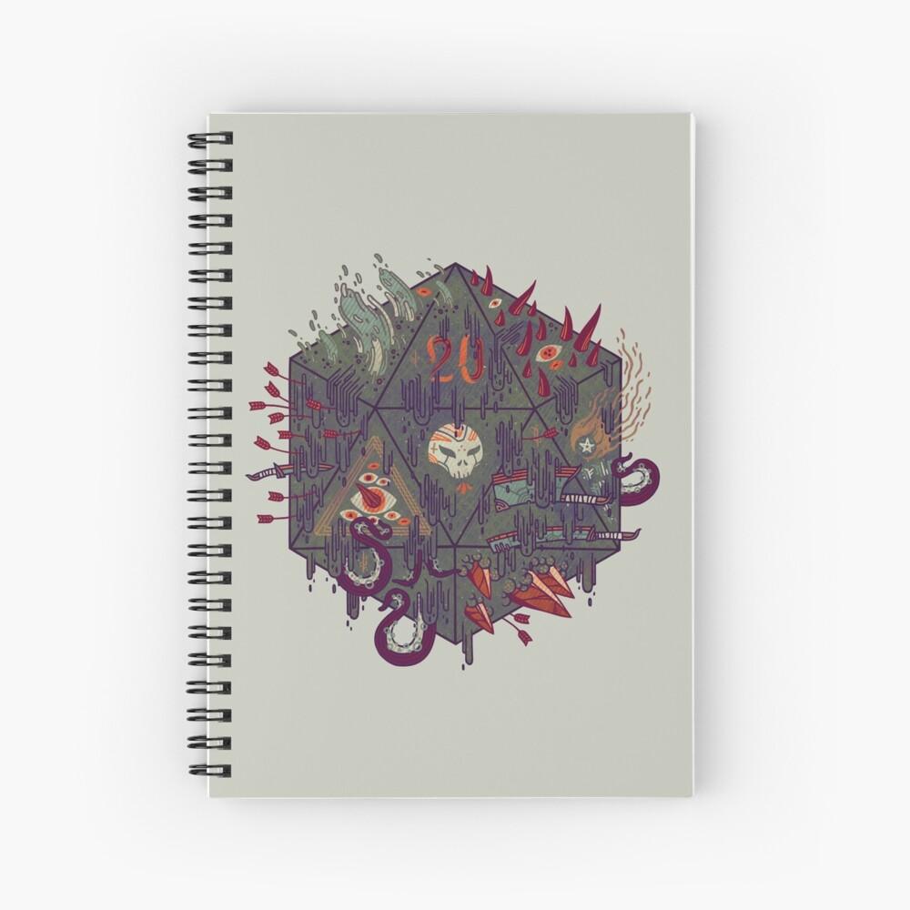 Die of Death Spiral Notebook