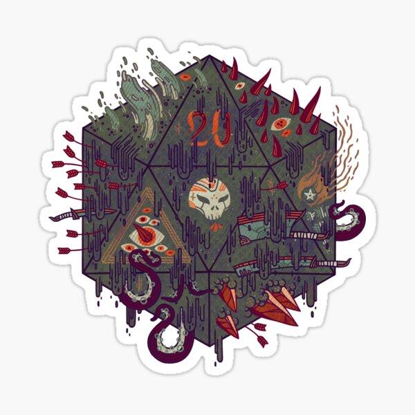 Die of Death Sticker