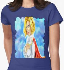 Strength in the Skies Women's Fitted T-Shirt