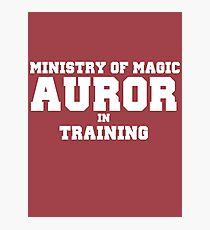 Auror in Training Photographic Print