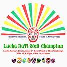 Lucha DaT! Champion - White by amcgurk3