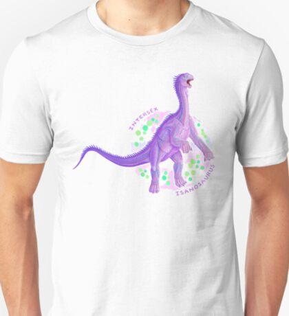 Intersex Isanosaurus (with text)  T-Shirt