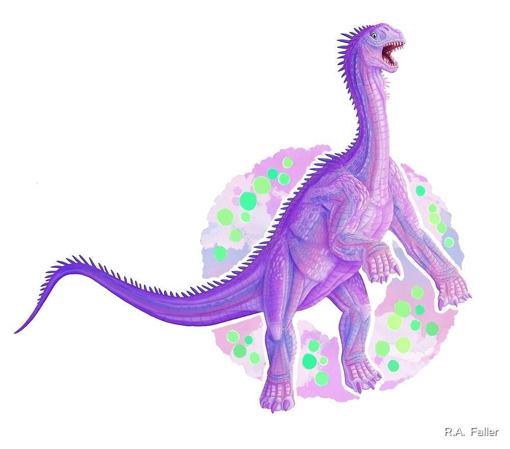Isanosaurus (without text)  by R.A.  Faller