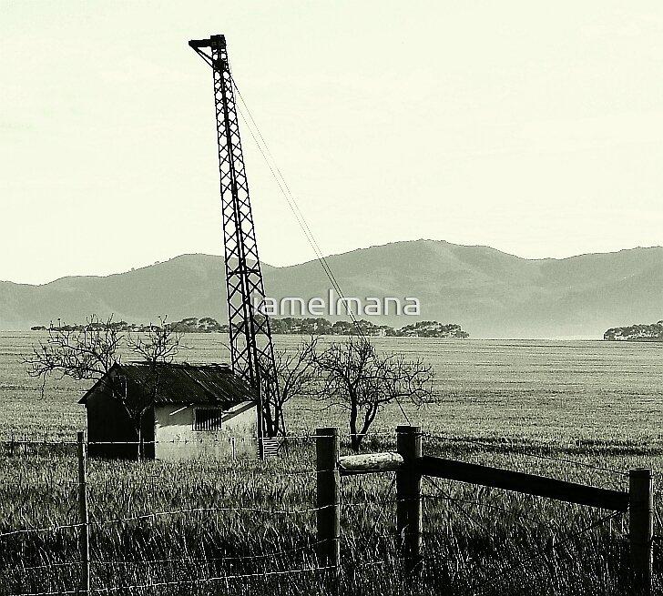 Blot on the landscape by iamelmana