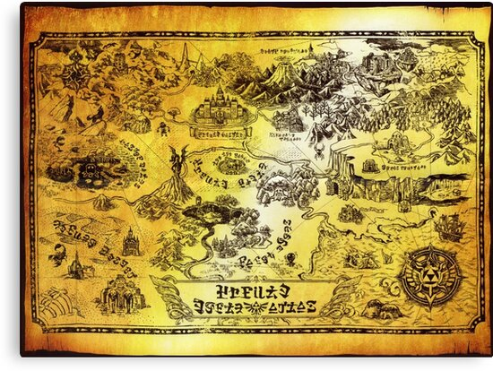 Large World Map Tapestry