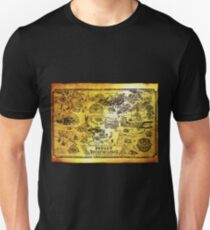 Hyrule Map Legend of Zelda Unisex T-Shirt