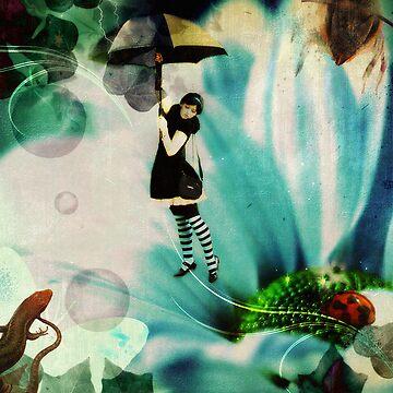 Flight of Fantasy (Under Her Umbrella) by ravenmadd