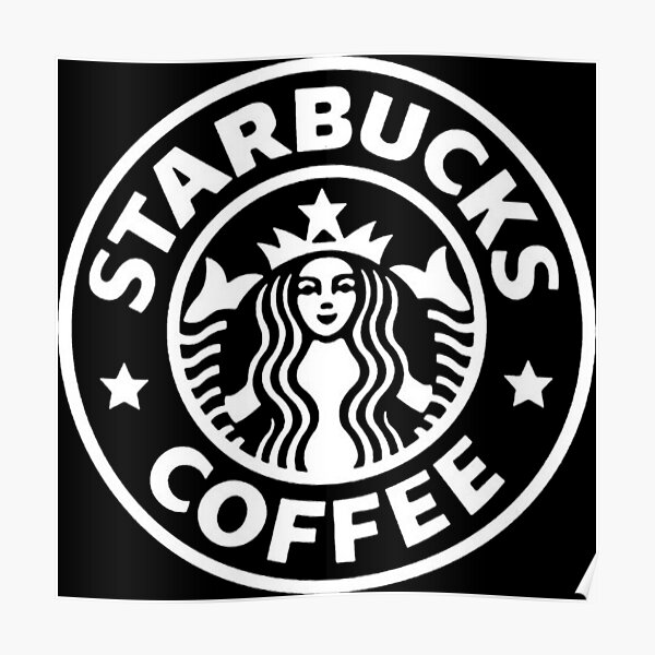 Starbucks Logo Posters Redbubble