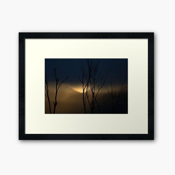 Mt Hotham Sunset 2 Framed Art Print