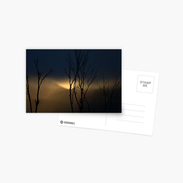Mt Hotham Sunset 2 Postcard
