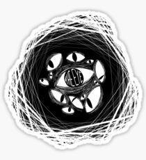 the eye / beholding / ceaseless watcher / the watcher Sticker