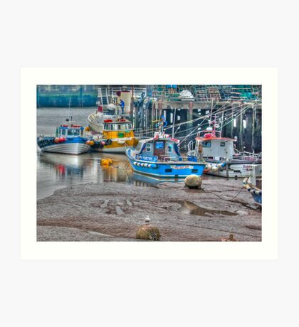 In The Harbour Art Print