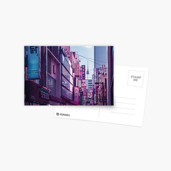 Seoul - Anime World Postcard