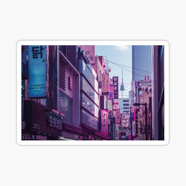 Seoul - Anime World Sticker