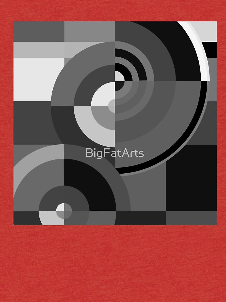 Geometric Revolution 10 by BigFatArts