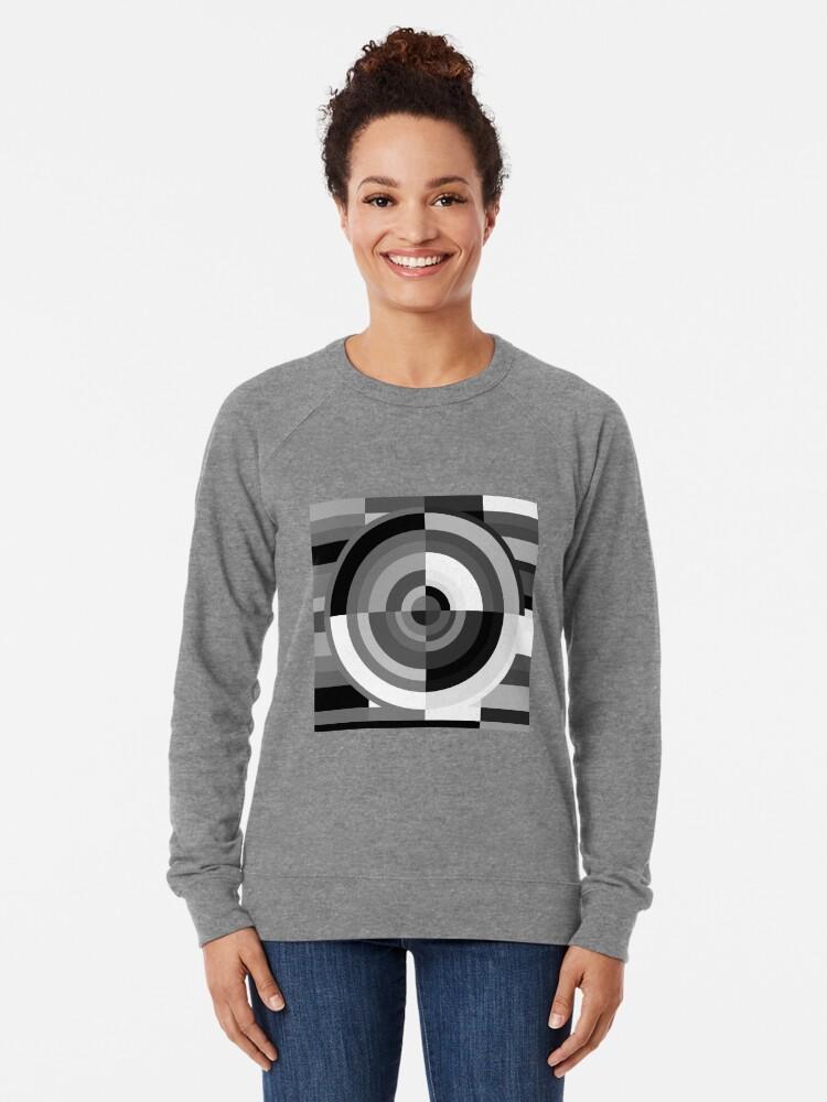 Alternate view of Geometric Revolution 11 Lightweight Sweatshirt