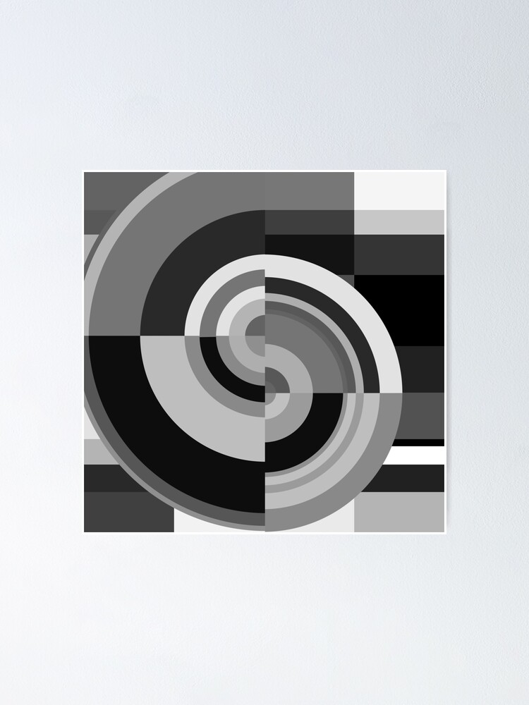 Alternate view of Geometric Revolution 12 Poster