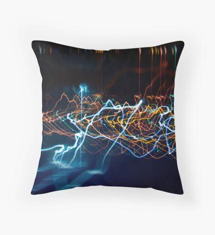 light_reflections #3 Throw Pillow