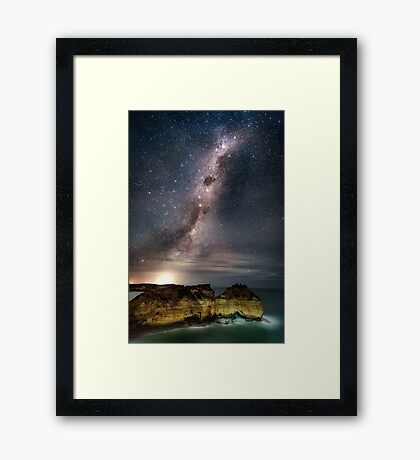 Childers Cover Milky Way Framed Print