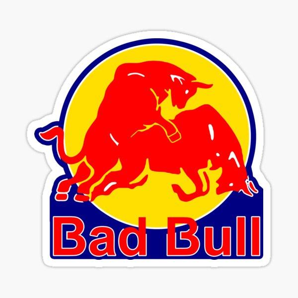 Bad Bull;  Sticker