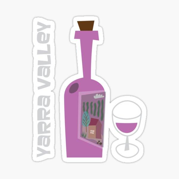 Yarra Valley Wine Region Sticker