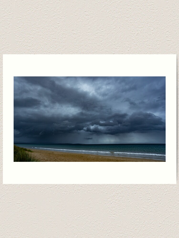 Alternate view of Storm over Dunalley Art Print
