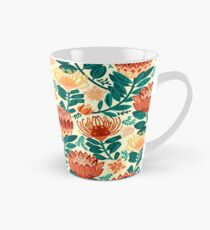 Protea Chintz - Teal & Orange  Tall Mug