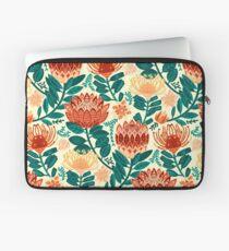 Protea Chintz - Teal & Orange  Laptop Sleeve