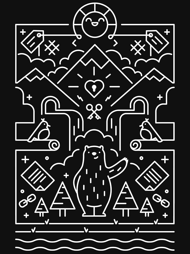3rd Bearthday Shirt - Black by shinyfrog