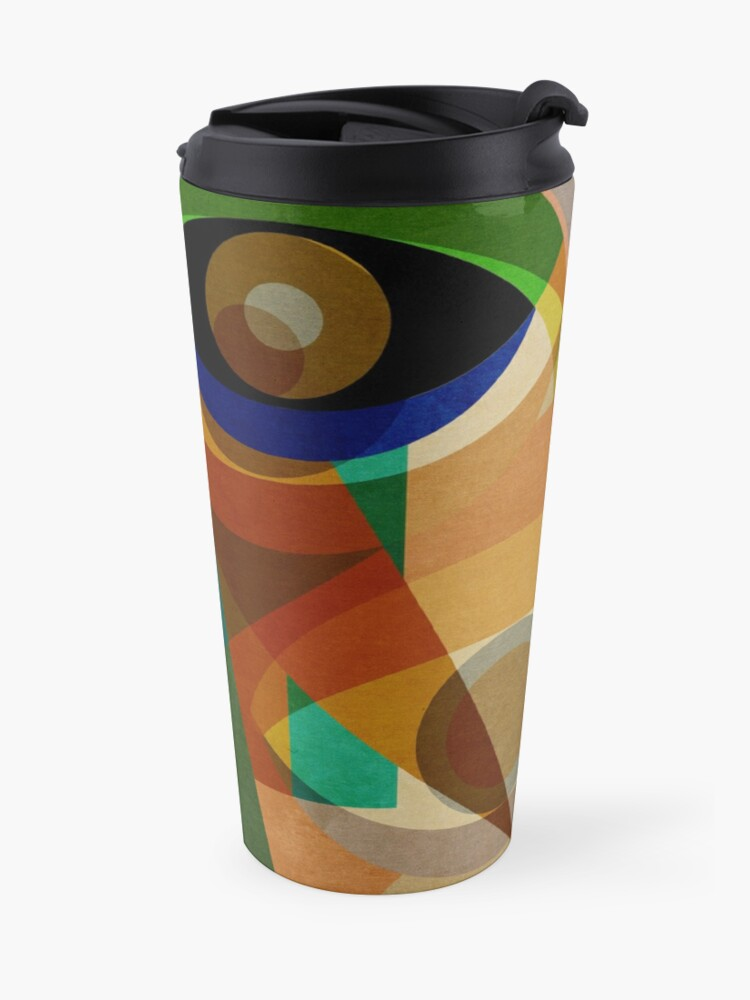 Alternate view of Space Shapes SIX Travel Mug