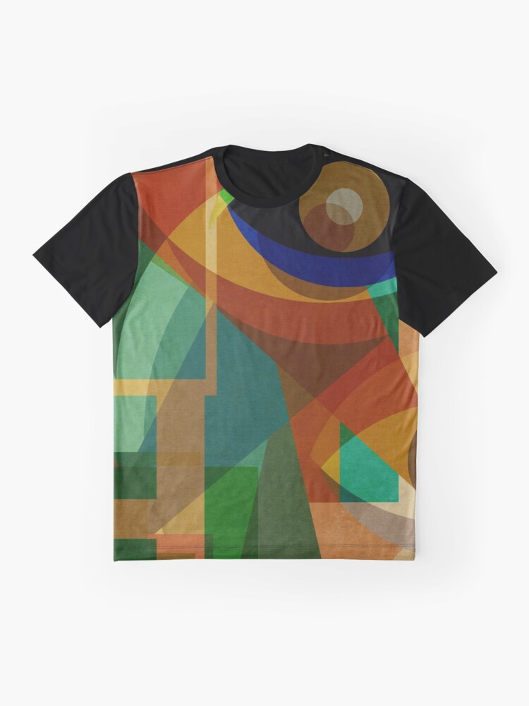 Alternate view of Space Shapes SIX Graphic T-Shirt