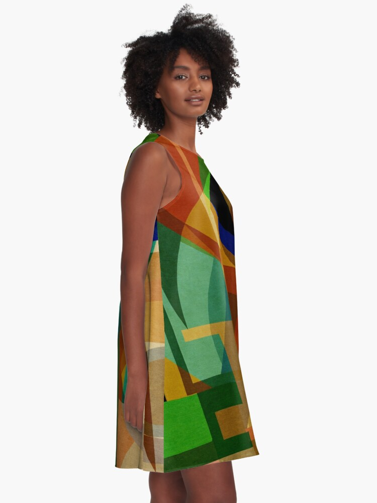 Alternate view of Space Shapes SIX A-Line Dress