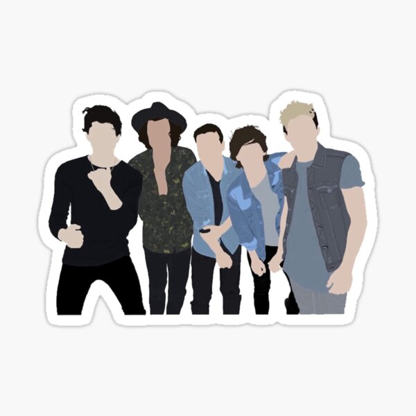 One Direction Sticker